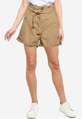ONLY beige Mai Life Shorts E44CAAA2C43D00GS_1