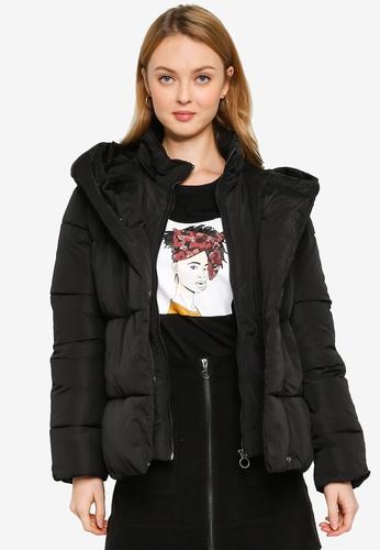ONLY black Sara Short Puffer Jacket C0A81AA3B30196GS_1