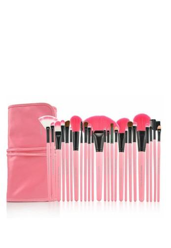 Makeup For You pink Makeup For You Original ECO 24 PINK Brush Set A8407BEA45939AGS_1
