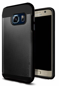 Neo Hybrid Carbon Series Shockproof Case for Samsung Galaxy S7 Edge