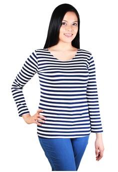 Sonya Long Sleeves Stripes