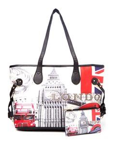 Emma Printed Tote Bag