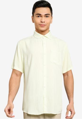 Cotton On blue Cuban Short Sleeve Shirt A82F0AA229CA7CGS_1