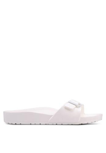 BIRKENSTOCK white Madrid EVA Sandals 085C6SHBDE1890GS_1