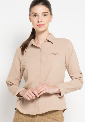 sophistix beige Nell Shirt SO829AA46OXPID_1