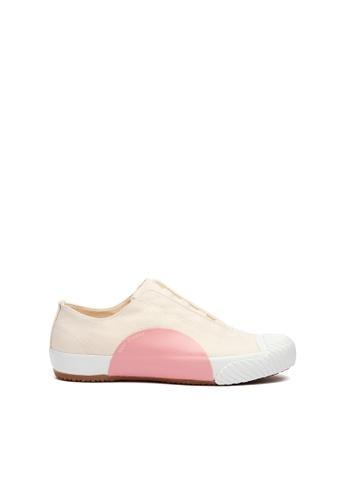 Royal Elastics 粉紅色 and 米褐色 New York帆布休閒鞋 FC9AFSHF3723EBGS_1