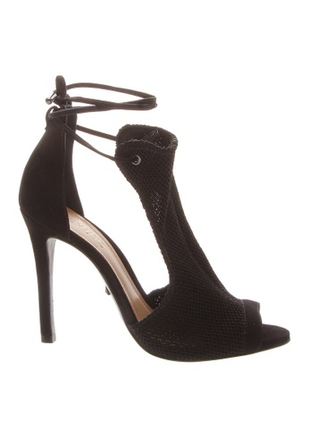 SCHUTZ black SCHUTZ Knit Sandal - DIANA (BLACK) 6C235SH3697C99GS_1