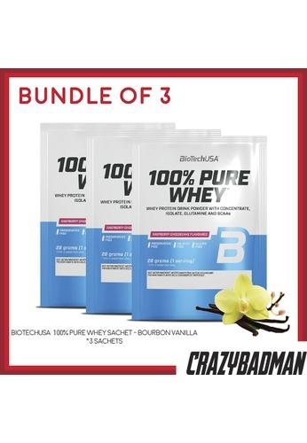 BioTechUSA [Bundle of 3] 100% Pure Whey Sachet - Bourbon Vanilla 6DF54ES5B3A0E8GS_1
