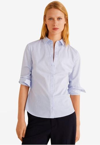 70d8f31fdf9a6 Striped Cotton Shirt