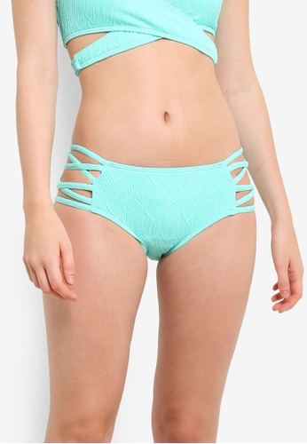 Piha green Gelato Bound High Waisted Bikini Bottom PI734US0RCT2MY_1