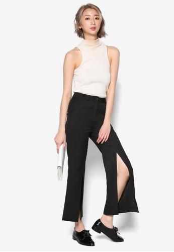 開叉寬擺長褲esprit holdings, 服飾, 長褲及內搭褲