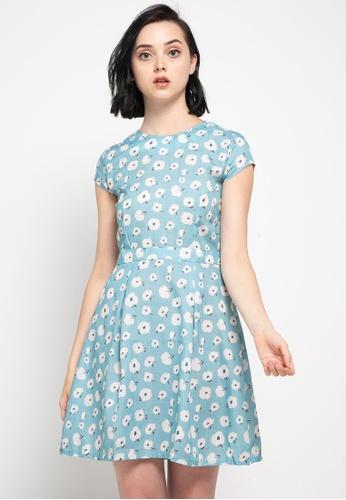 CHANIRA LA PAREZZA blue Chanira Layla Dress 8880BAA4FA7E5AGS_1