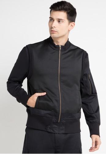 (X) S.M.L black Emery Jacket XS330AA0WEACID_1