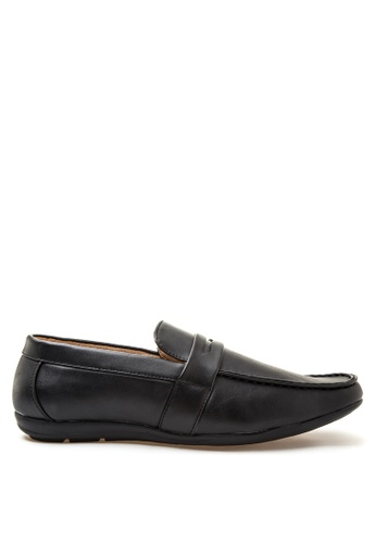 Itti black Loafers & Moccasins IT425SH64RWHPH_1