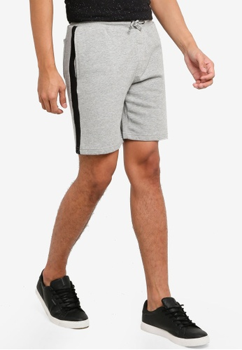 Brave Soul multi Side Tape Detail Shorts 69048AA1A14DBCGS_1