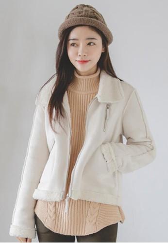 輕量羊毛麂皮絨外套, 服飾, 夾克 &ampesprit地址; 大衣