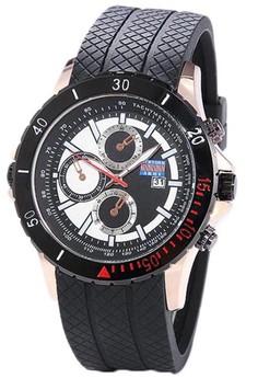 Newyork Army Men's Black Silicon strap sports Watch NYA3222