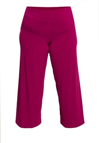 F.101 purple Plus Size Square Pants 5D778AAB5A480DGS_1