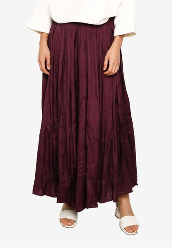 niko and ... purple Woven Maxi Skirt 4AB06AA5396062GS_1