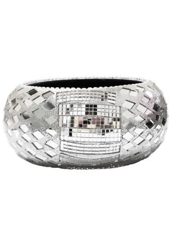 San Marco silver Mirror Artwork Bangle FE3DBAC032257AGS_1