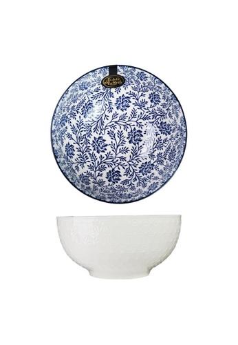 Table Matters multi Floral Blue - 8 inch Big Serving Bowl CE0E9HLC46B2E3GS_1