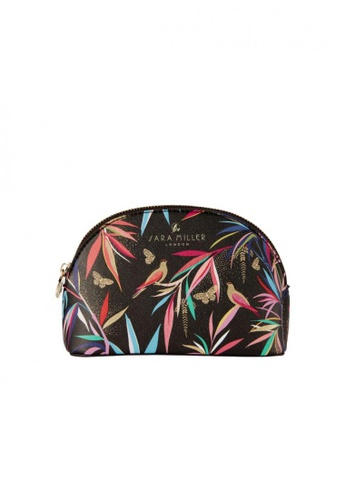 Sara Miller black Sara Miller London - Small Cosmetic Bag - Black Bamboo (FG8437) E7634AC7885BDCGS_1