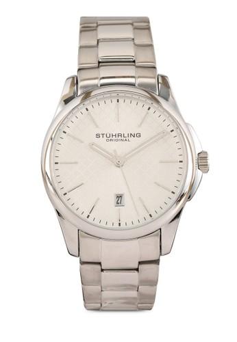 Stuhrling Original silver Argyle Quartz Classic Watch 5F803ACBA598A5GS_1