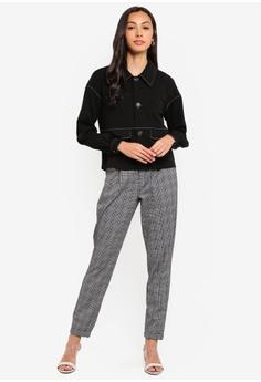 42164d08cbc9a1 10% OFF JACQUELINE DE YONG Delicious Check Pants RM 119.00 NOW RM 106.90  Sizes XS S M L