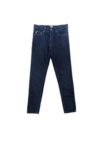 PAUL SMITH JUNIOR blue PAUL SMITH JUNIOR TEEN BOYS LONG PANTS 22468KA4321210GS_1