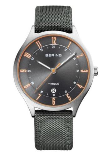 Bering grey Classic  11739-879 Grey 39mm Men's Watch 2EEABAC21F0321GS_1
