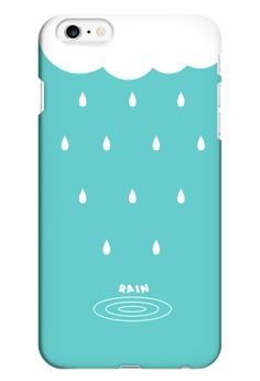 Rain Cloud Matte Hard Case for iPhone 6 Plus