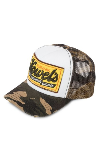 Howel'esprit地址s 網眼拼接鴨舌帽, 飾品配件, 鴨舌帽