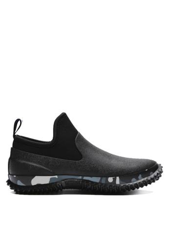 Twenty Eight Shoes 黑色 前衛迷彩設計雨鞋 VMR412 E10FCSH525CA28GS_1