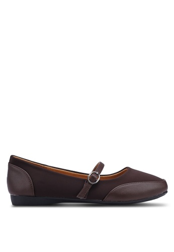 fc4df38430b5 Buy Louis Cuppers Faux Leather Ballerina Flats Online on ZALORA Singapore