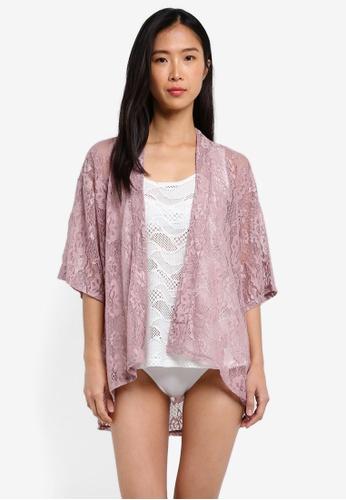 Funfit pink Lace Kaftan FU839AA0RW1RMY_1