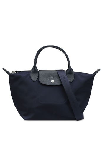 LONGCHAMP blue Le Pliage Néo Top Handle Bag S (nt) 7ED50ACD0F057FGS_1