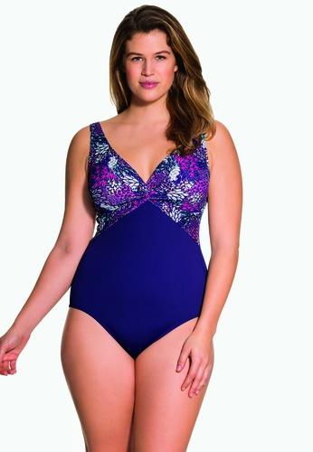 Dorina purple Paradise Curves One Piece Swimsuit 0C627US31E63B2GS_1