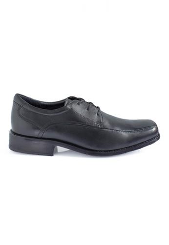 Gino Mariani black Gino Mariani Men's Leather Shoes DARREN 3  - BLACK CC82FSH57784EDGS_1
