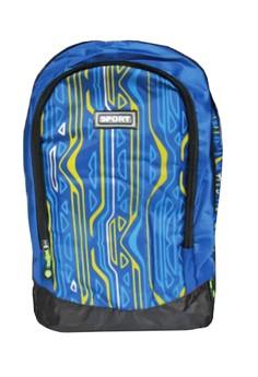 Sports Climbing Hiking School Bag BackPack BP-E1 (Blue)