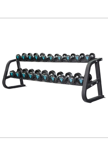 LIVE UP AND LIVE PRO. blue 2-Tier LivePro Commercial Dumbbells Rack 09D3BSEBFFC003GS_1