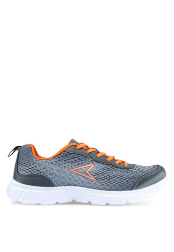 Power grey Athletic Running Shoes D9443SH110FE44GS_1