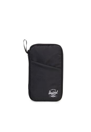 Herschel black Herschel Travel Wallet Black 48D1FAC92AFCEFGS_1