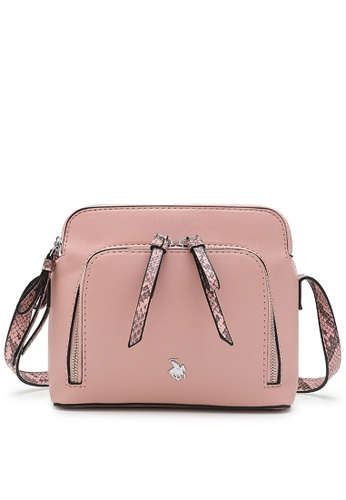 Swiss Polo pink Casual Sling Bag 1F7D9AC637E6DFGS_1