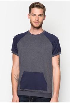 Raglan Short Sleeve Sweatshirt