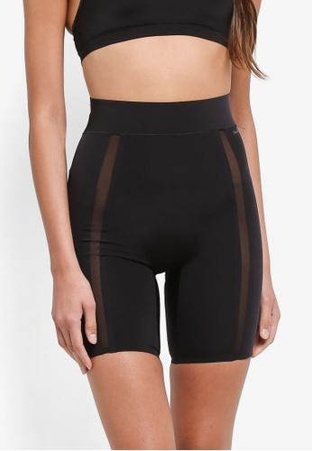 Calvin Klein black Thigh Shaper Short Panties - Calvin Klein Underwear E2E5BUSD19C442GS_1