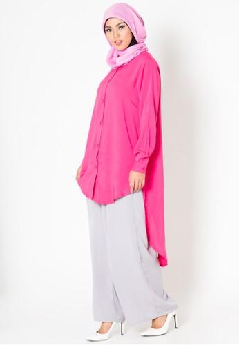 M tunic Kineta Pink