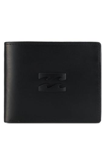 Billabong black Radius 2 In 1 Wallet BI783AC0SXS3MY_1