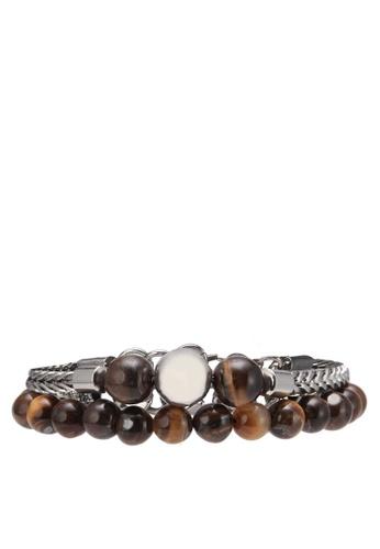 ALDO brown Pedahel Bracelets AL087AC0RYESMY_1