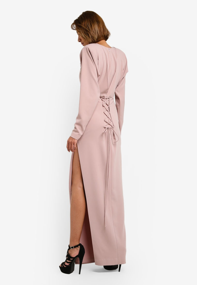 AfiqM Blush Dress Shoulder Way Off 2 IXTRUR