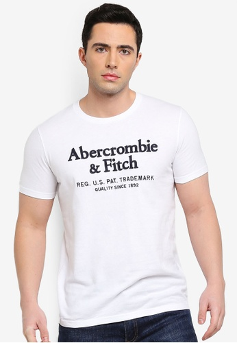 67eb4131 Abercrombie & Fitch white Short Sleeve Legacy T-Shirt A68F5AA218AA13GS_1